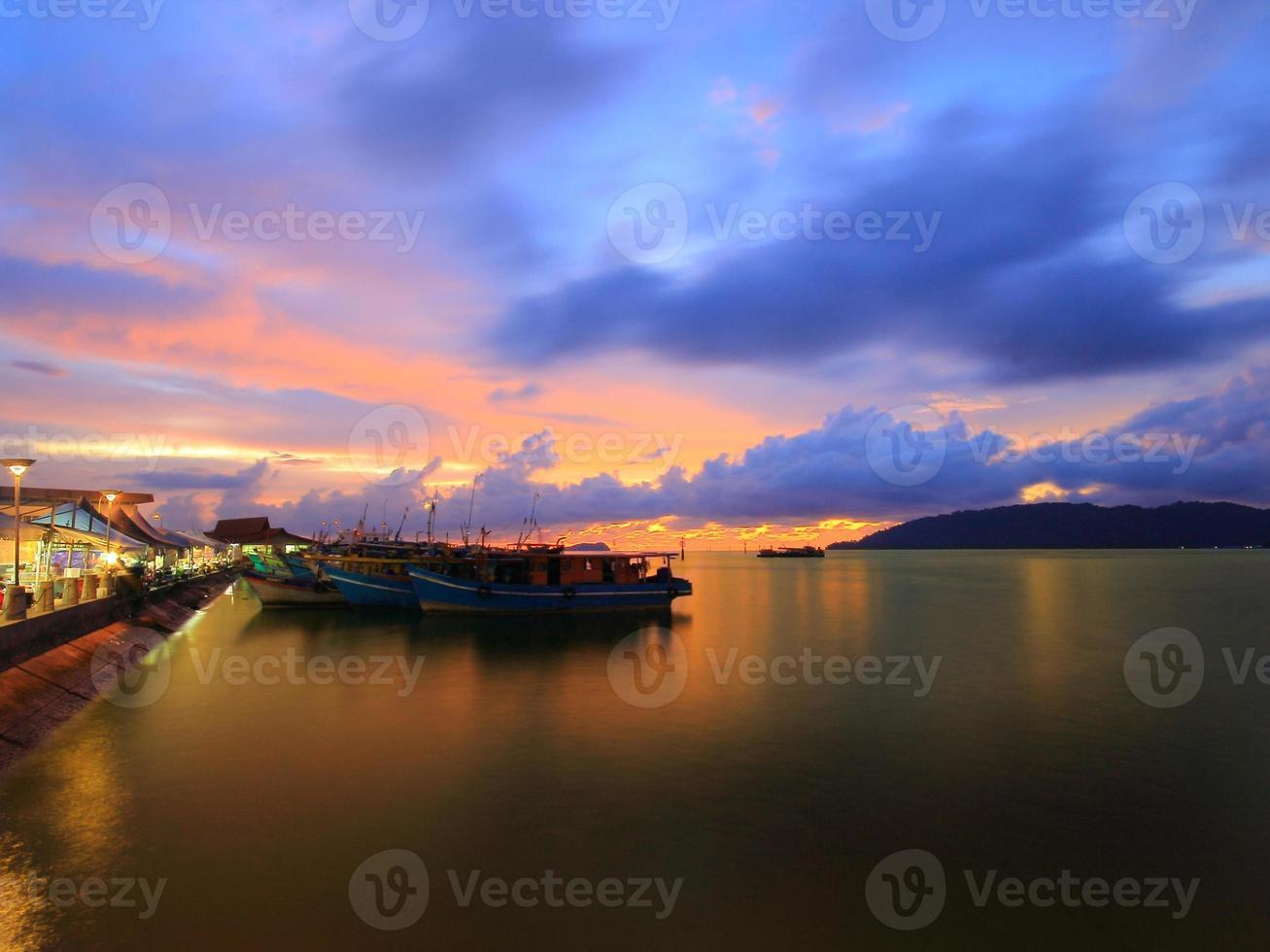 bateaux de pêcheur photo