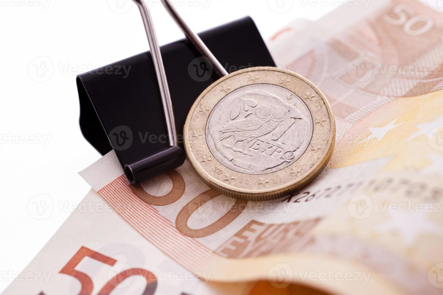 pièce euro grec photo