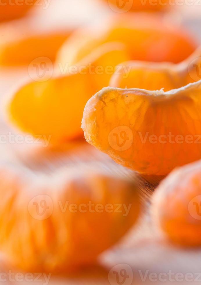 segments de mandarine photo