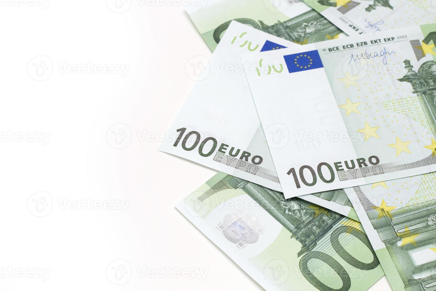 billets en euros photo