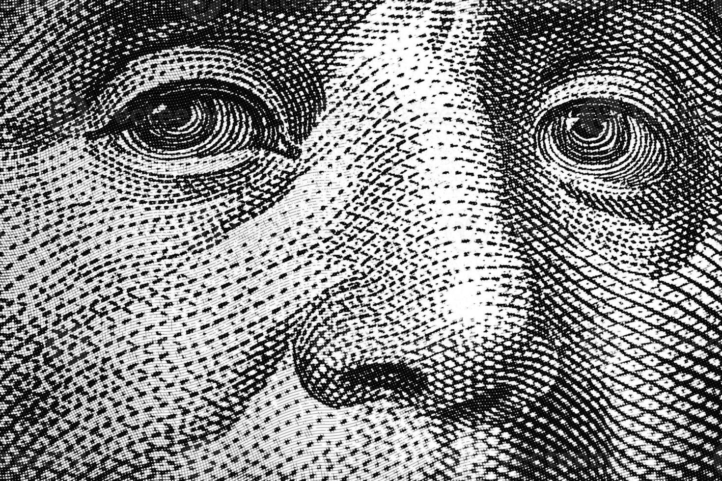 Benjamin Franklin Eyes photo