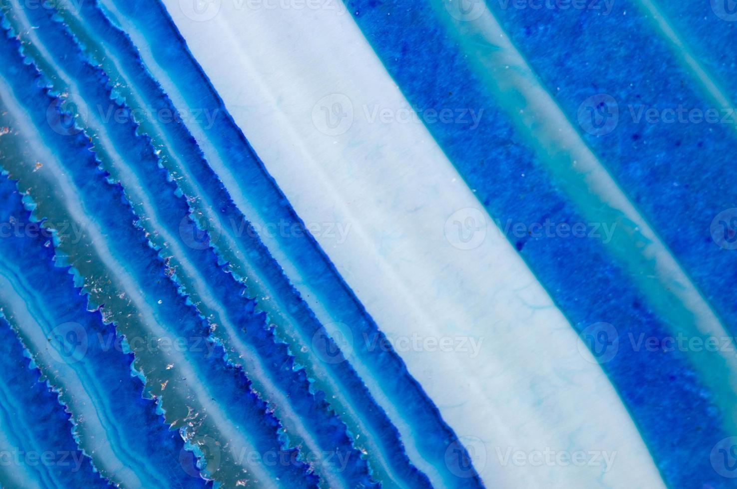 onyx bleu cristal. macro. photo