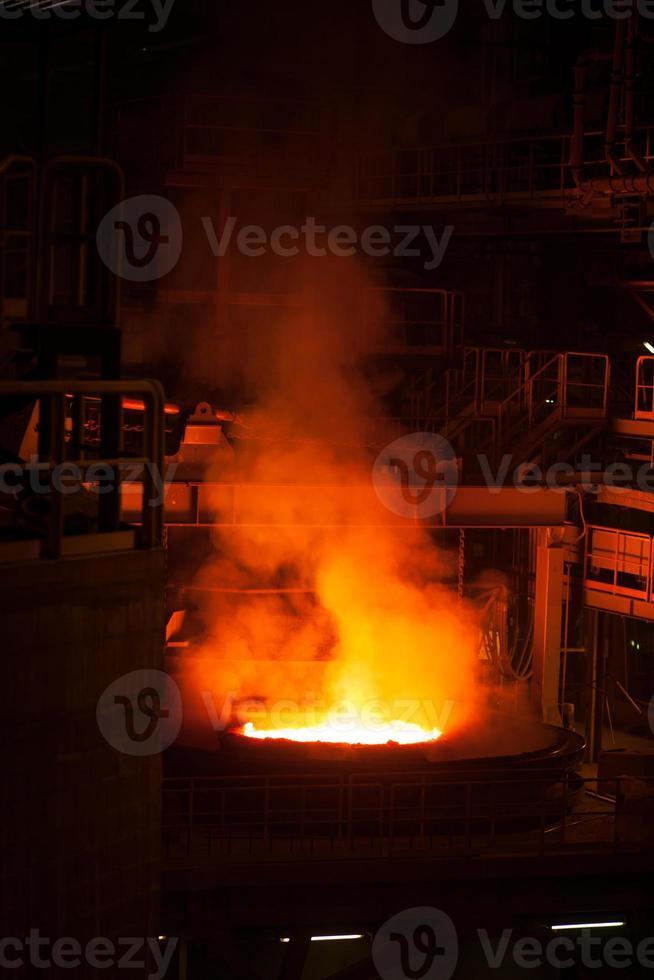 production d'acier photo
