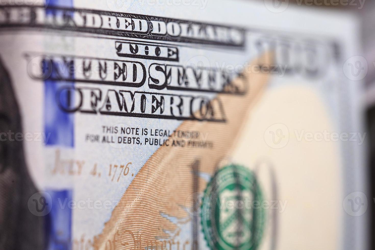 fond d'argent de dollars en tas de trésorerie photo