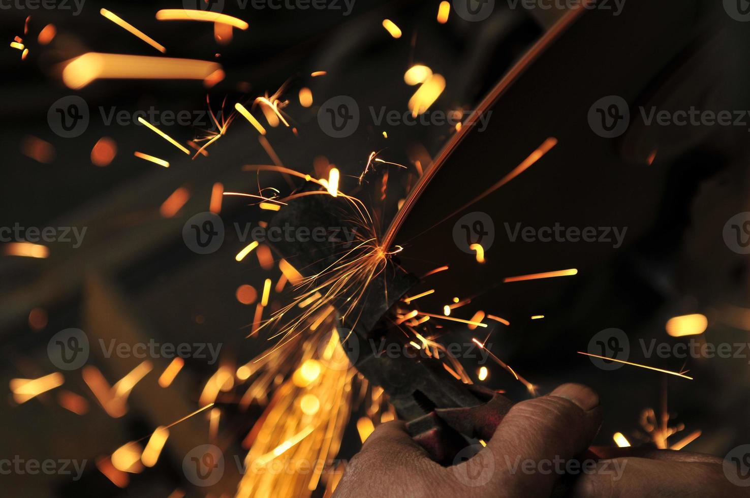 étincelle fonderie industrie photo