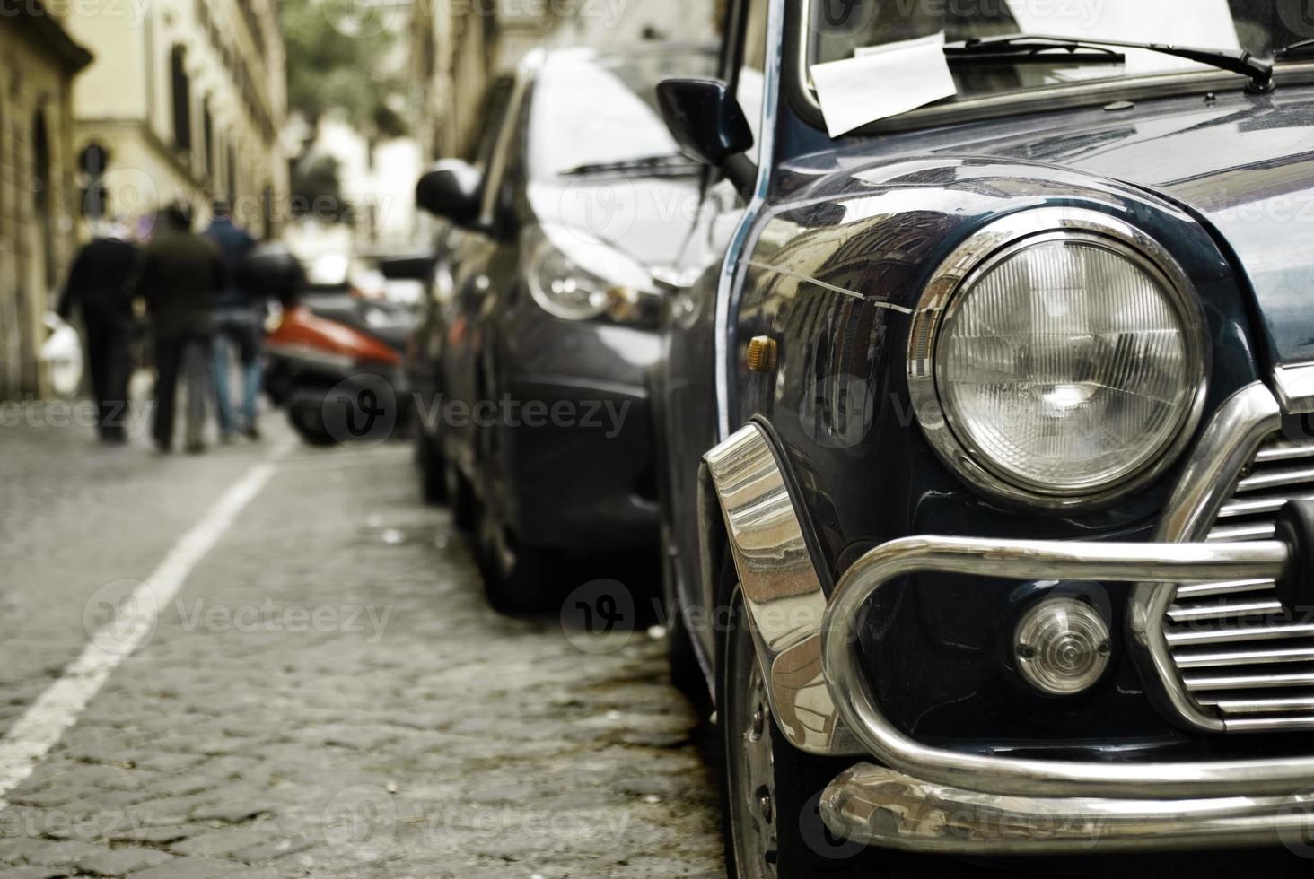 voiture et phare photo