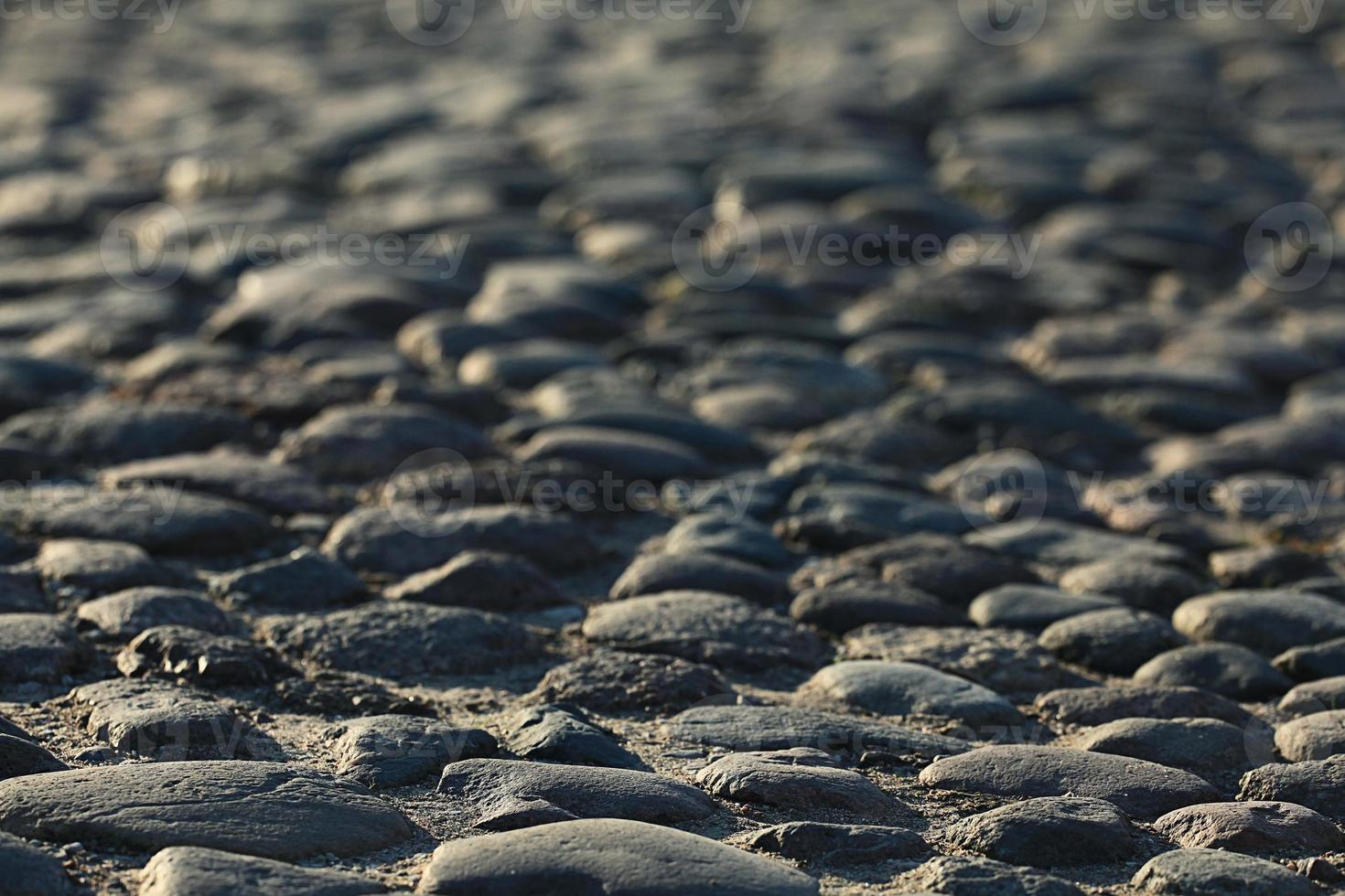 pierres, pavage, vieux, texture, fond photo