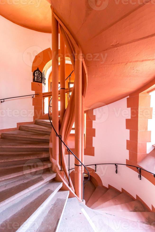 escalier en colimaçon antique photo