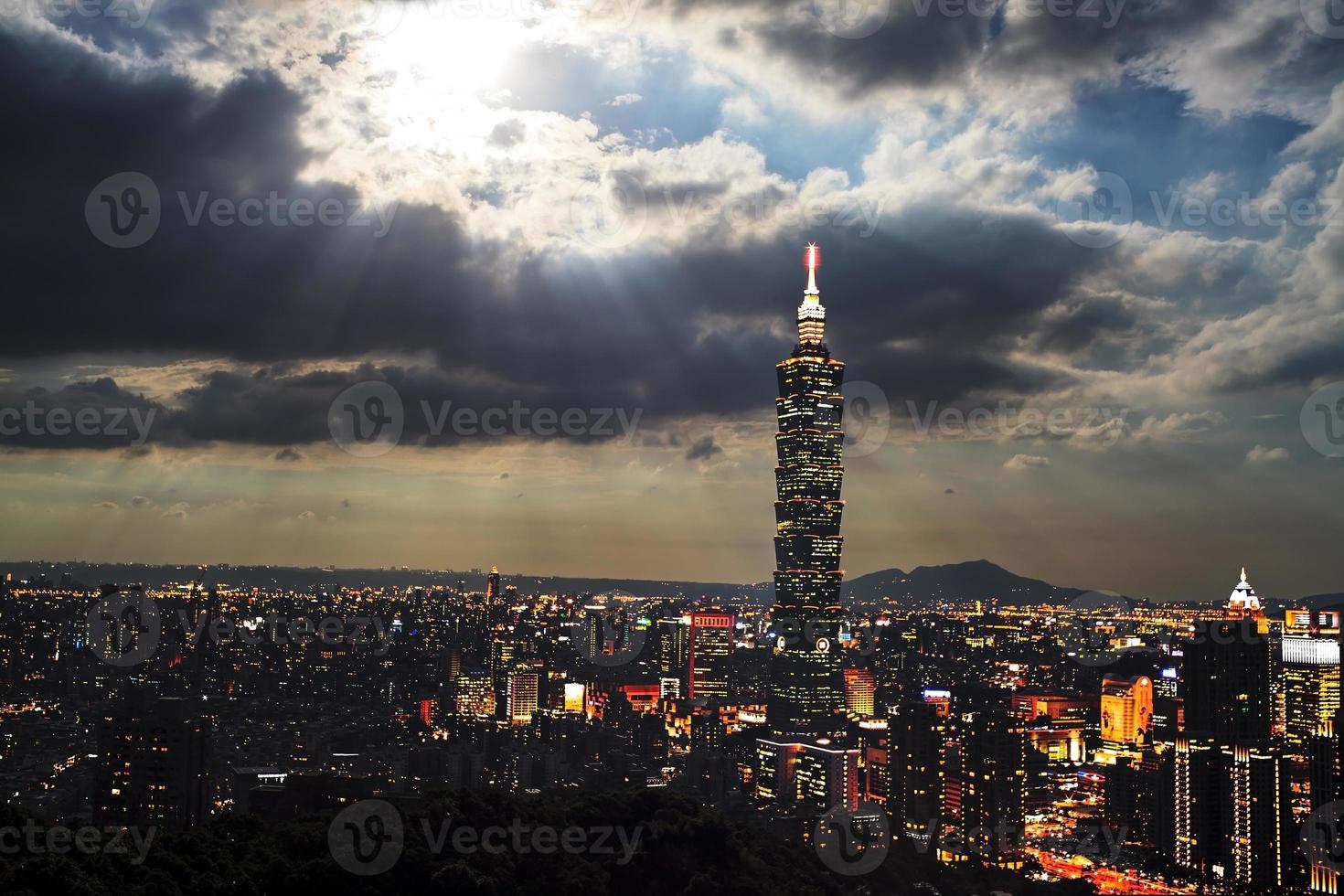 elephant mountain pour voir taipei photo