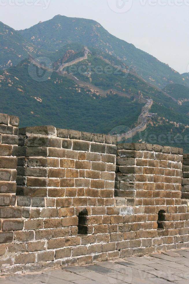 grande muraille de porcelaine, badaling. photo
