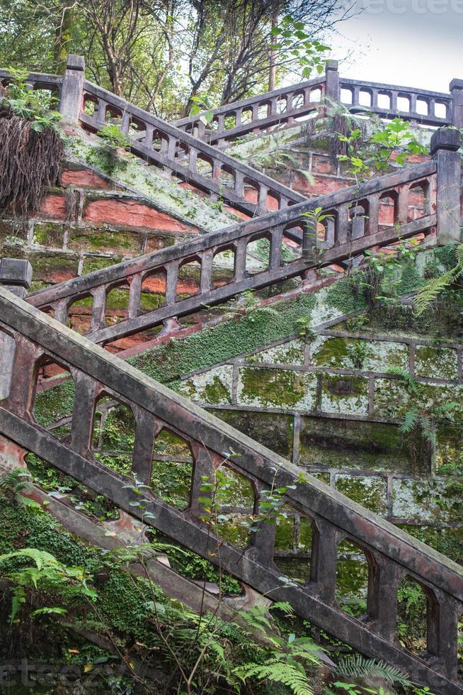 très beau vieux parc chinois photo