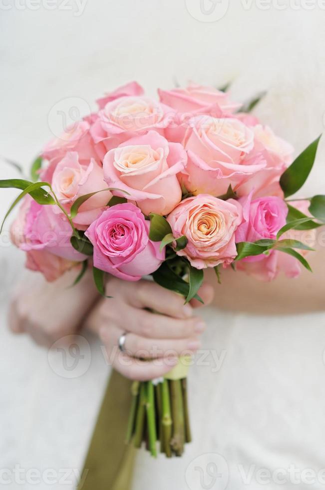 bouquet de fleurs de mariage photo