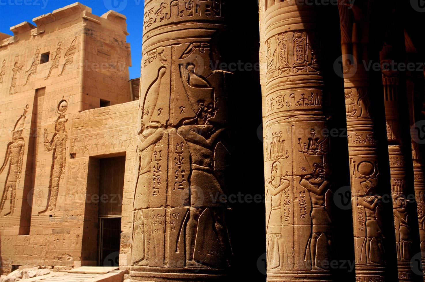 temple de philae, egypte photo