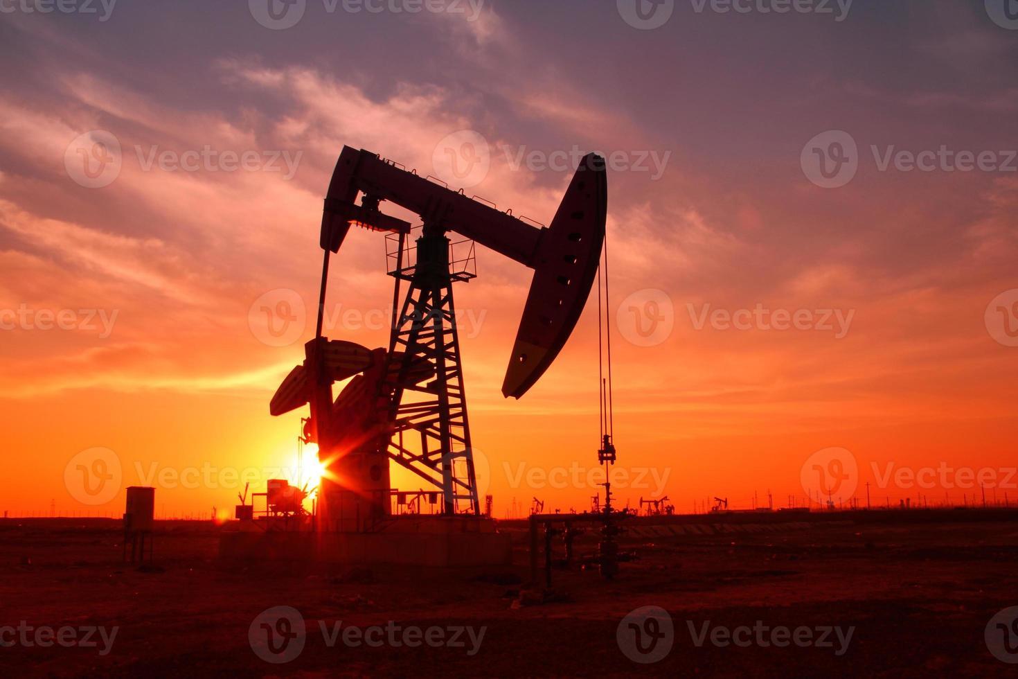 la pompe à huile photo