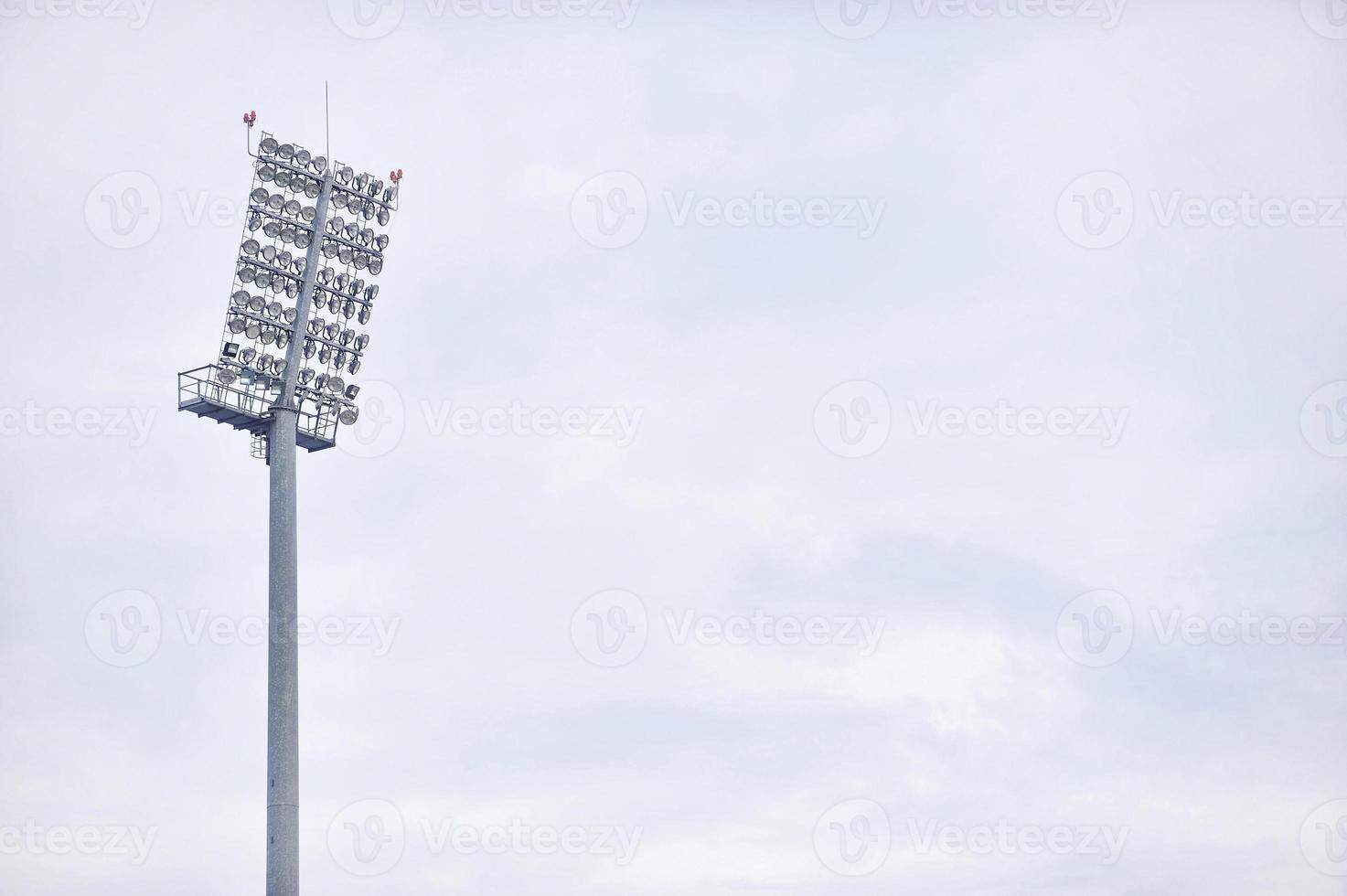 projecteurs d'arène de sports photo