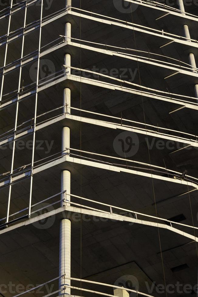 chantier de construction de tours en béton photo