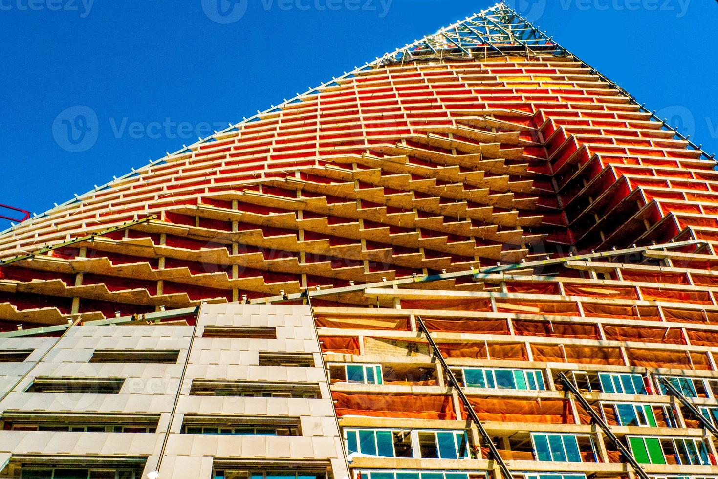 construction de gratte-ciel, nyc, grues photo