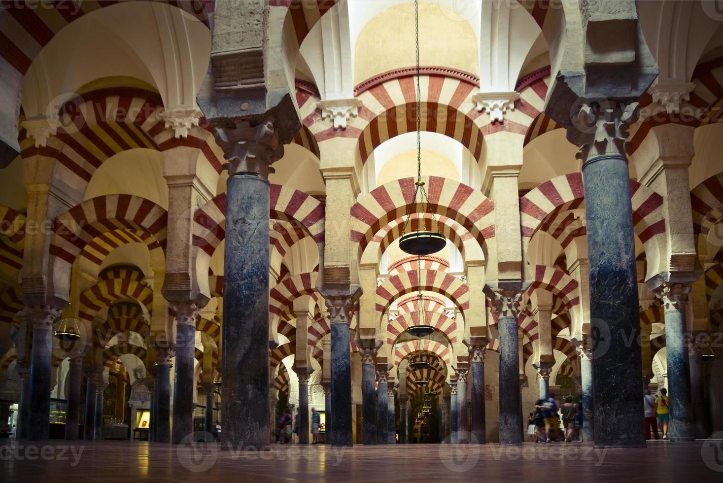à l'intérieur de la mezquita photo