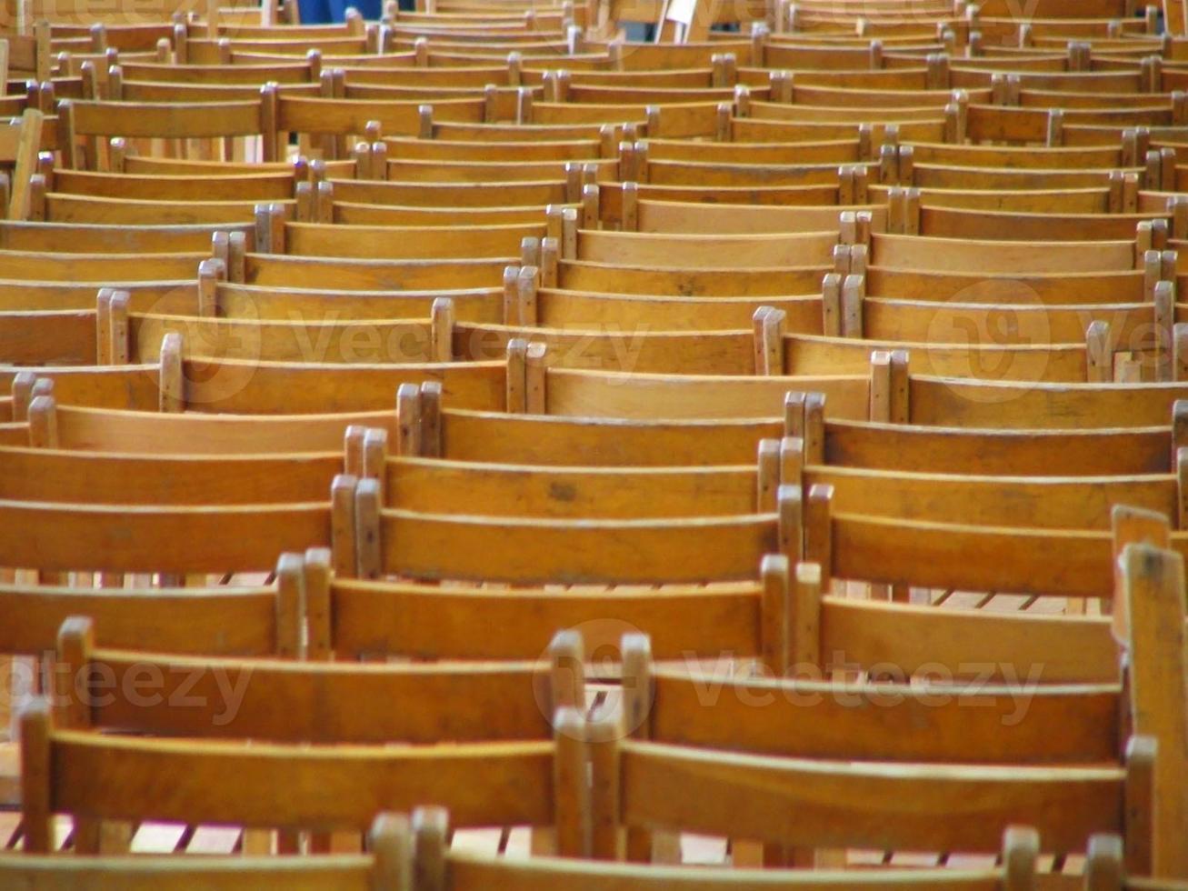 chaises à l'horizon photo