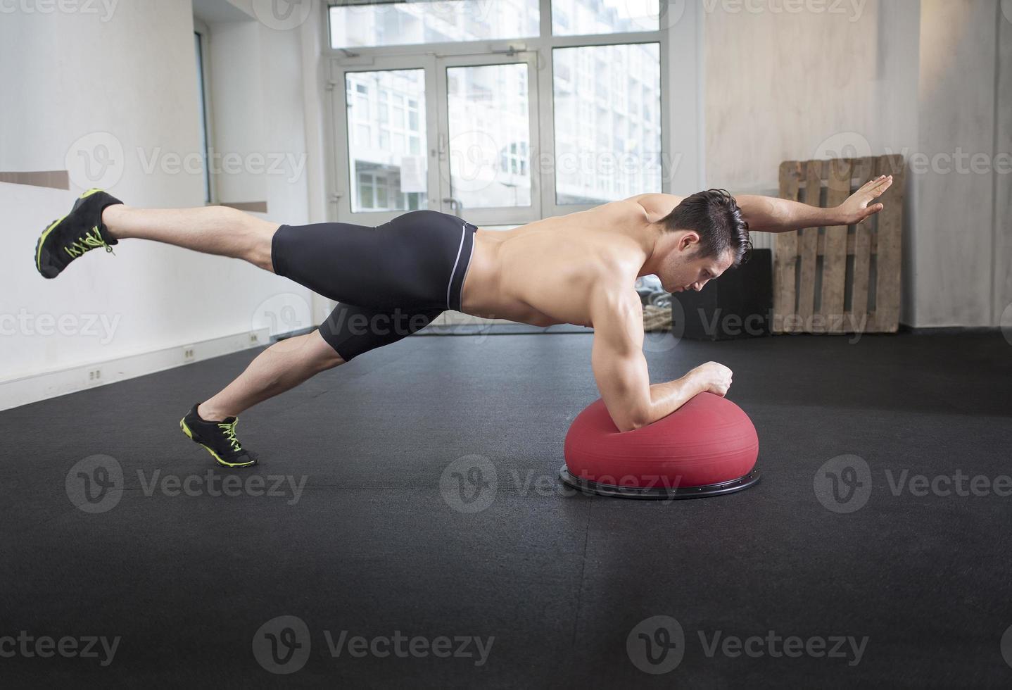 push-up sur tosu ball photo
