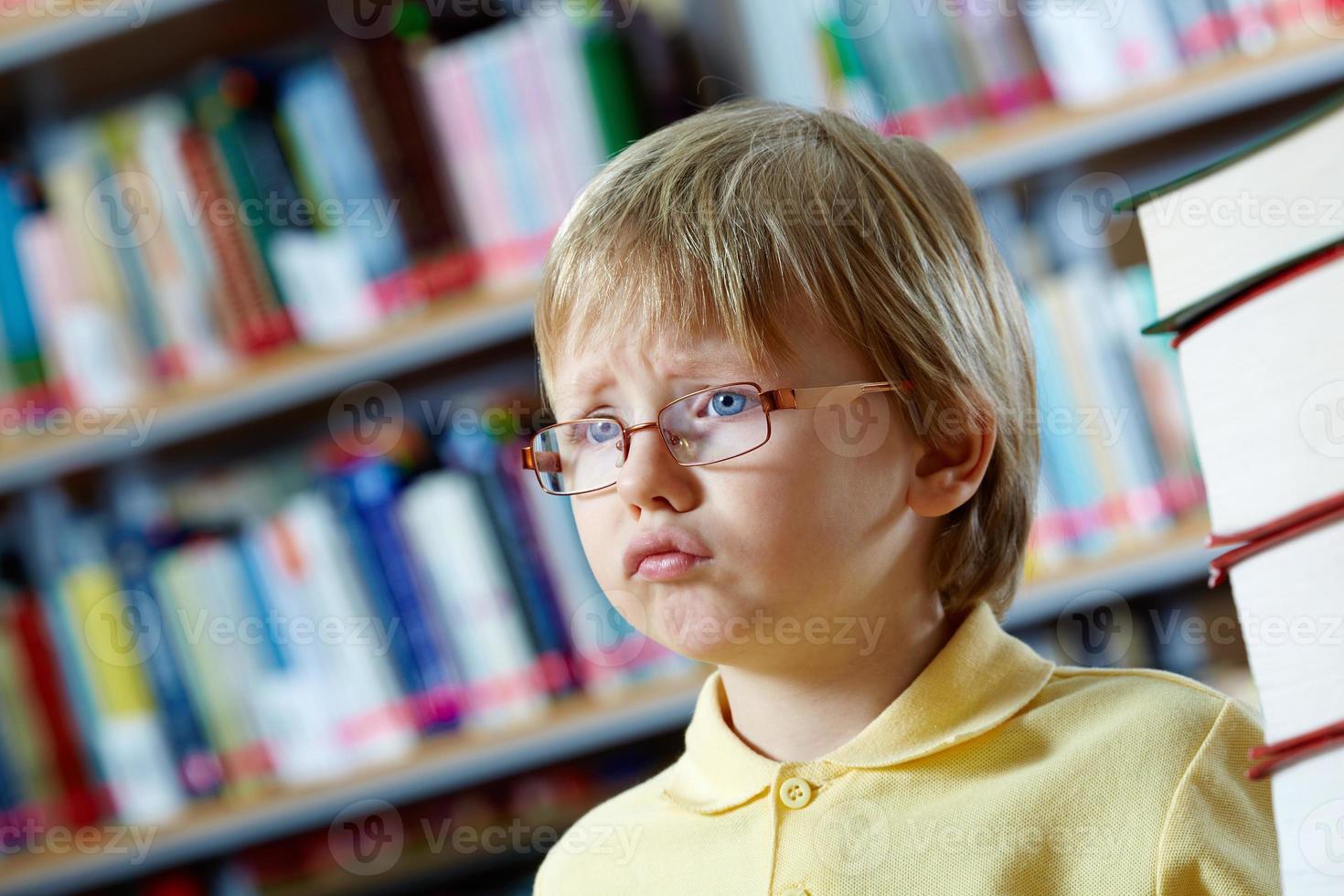 mignon enfant d'âge préscolaire photo