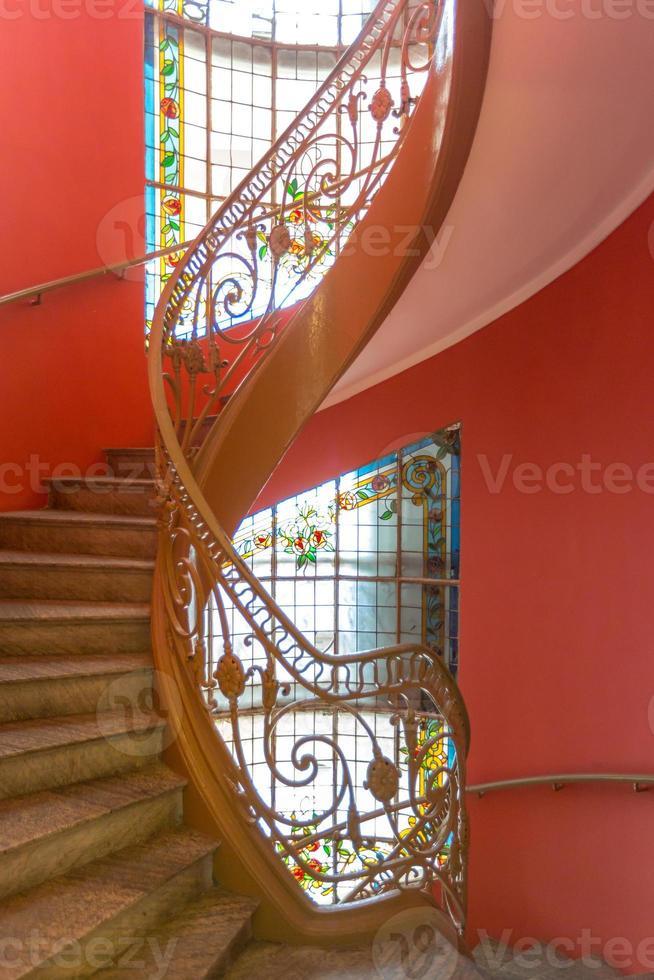 escalier en colimaçon photo