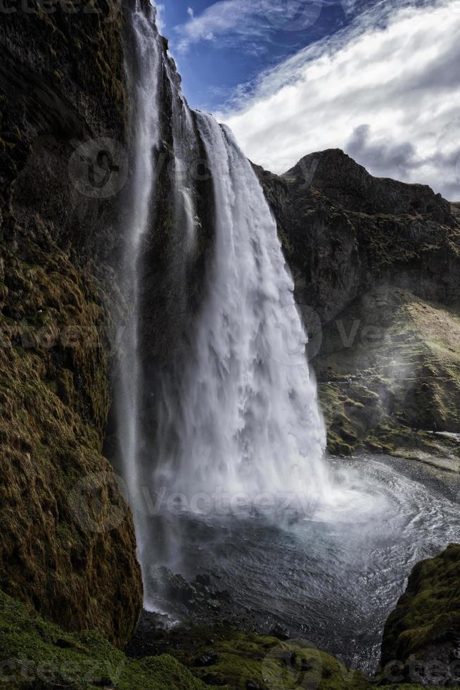 seljalandsfoss cascade islande photo