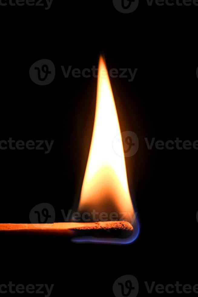 allumette brûlante photo