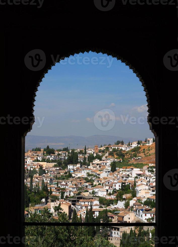 espagne, andalousie, grenade, alhambra. photo