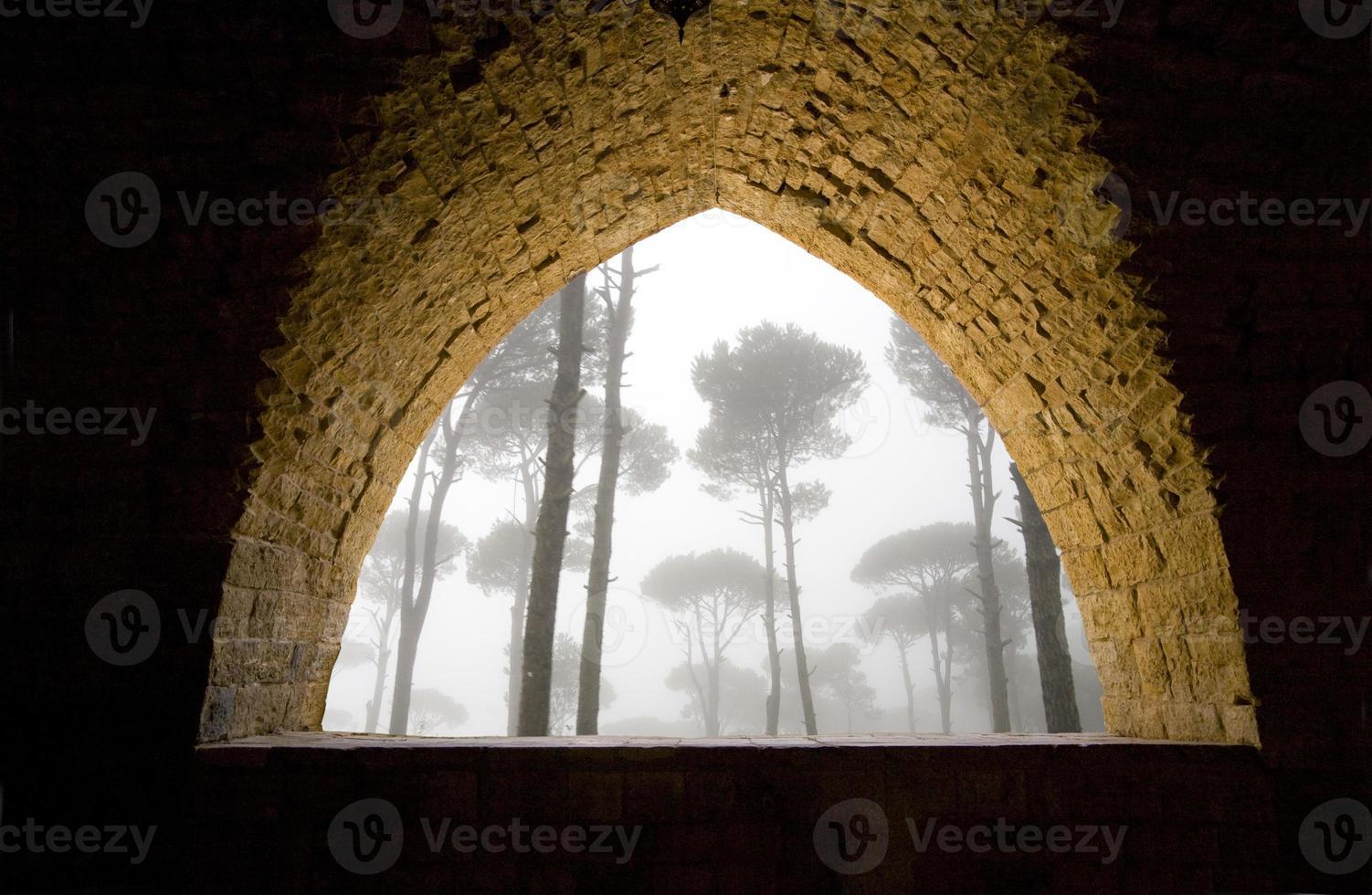 fenêtre en pierre photo