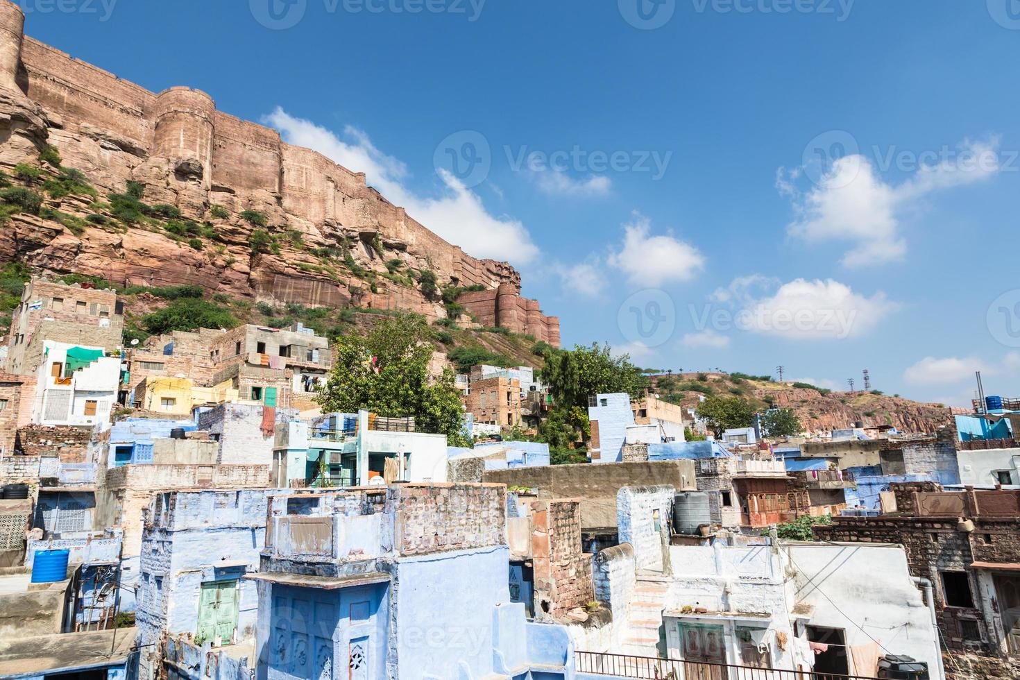Fort de Mehrangarh à Jodhpur, Rajasthan, Inde. photo