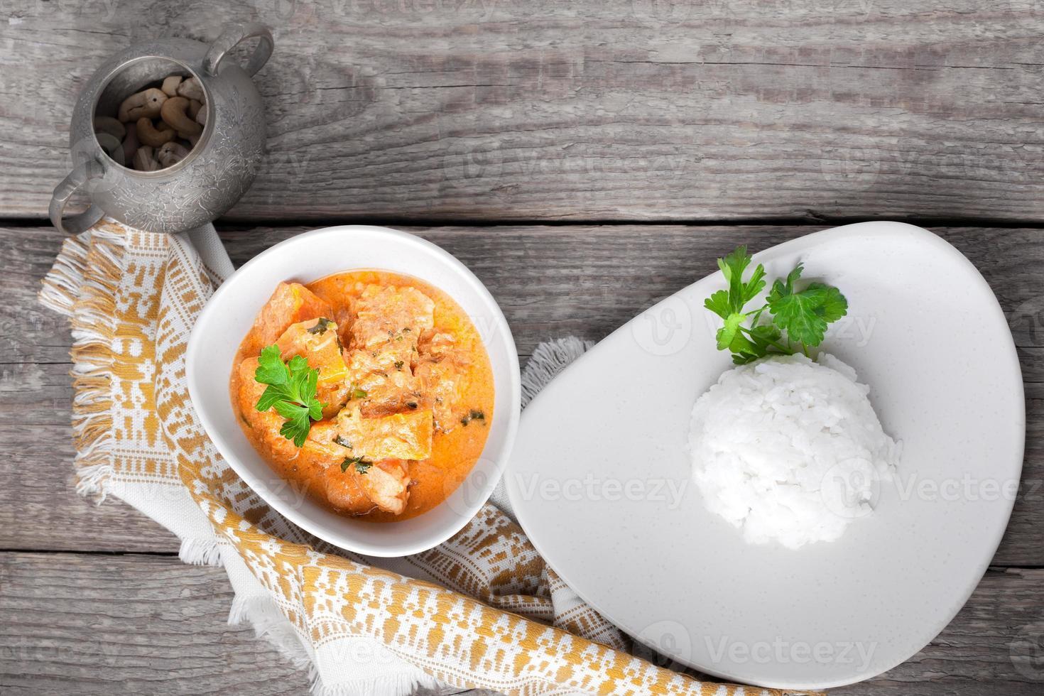 poulet au curry photo