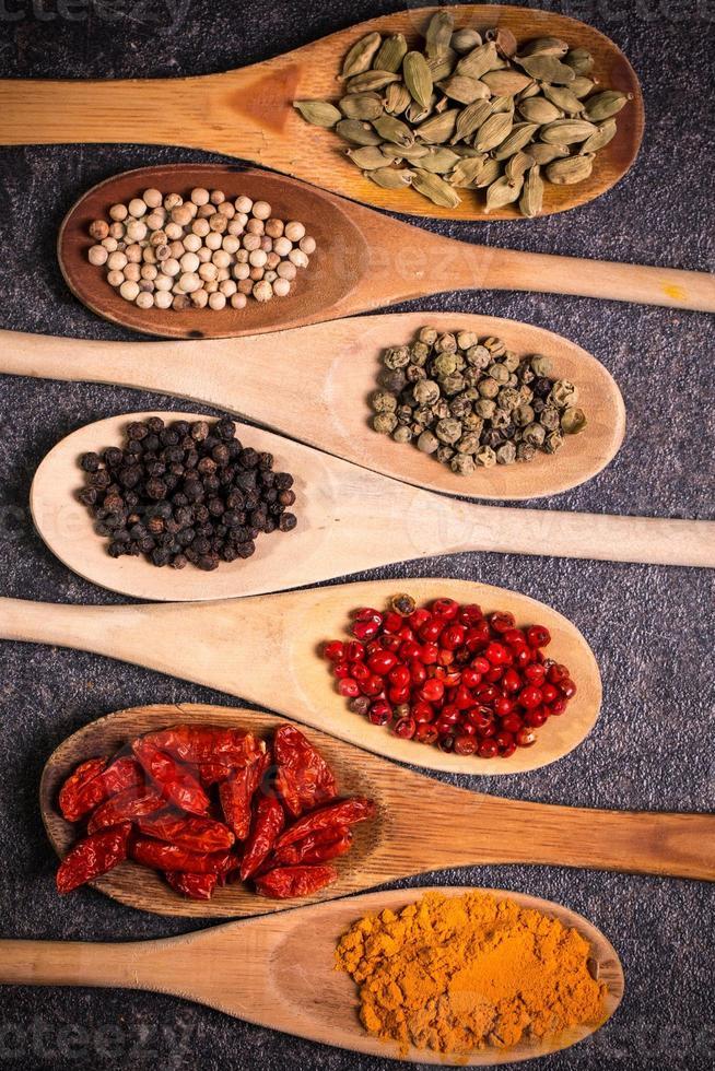 épices, ingrédients photo