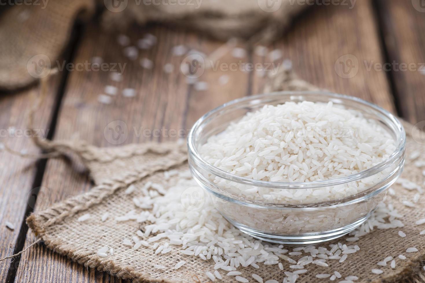 portion de riz photo