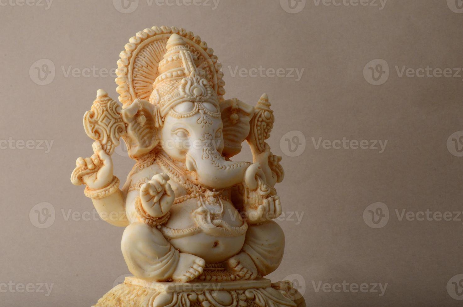 dieu hindou ganesha. idole de ganesha. photo