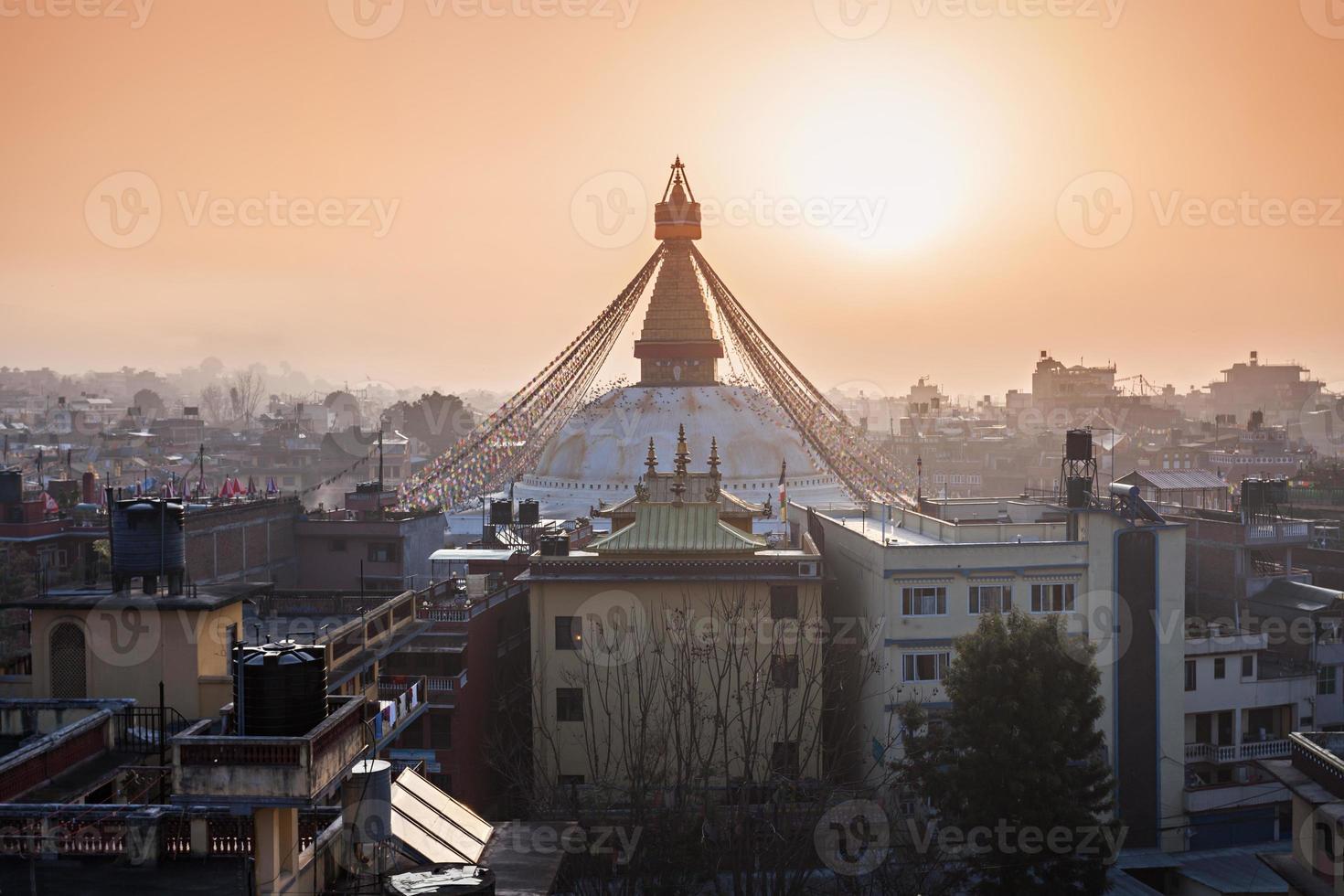 Boudhanath stupa, Katmandou photo