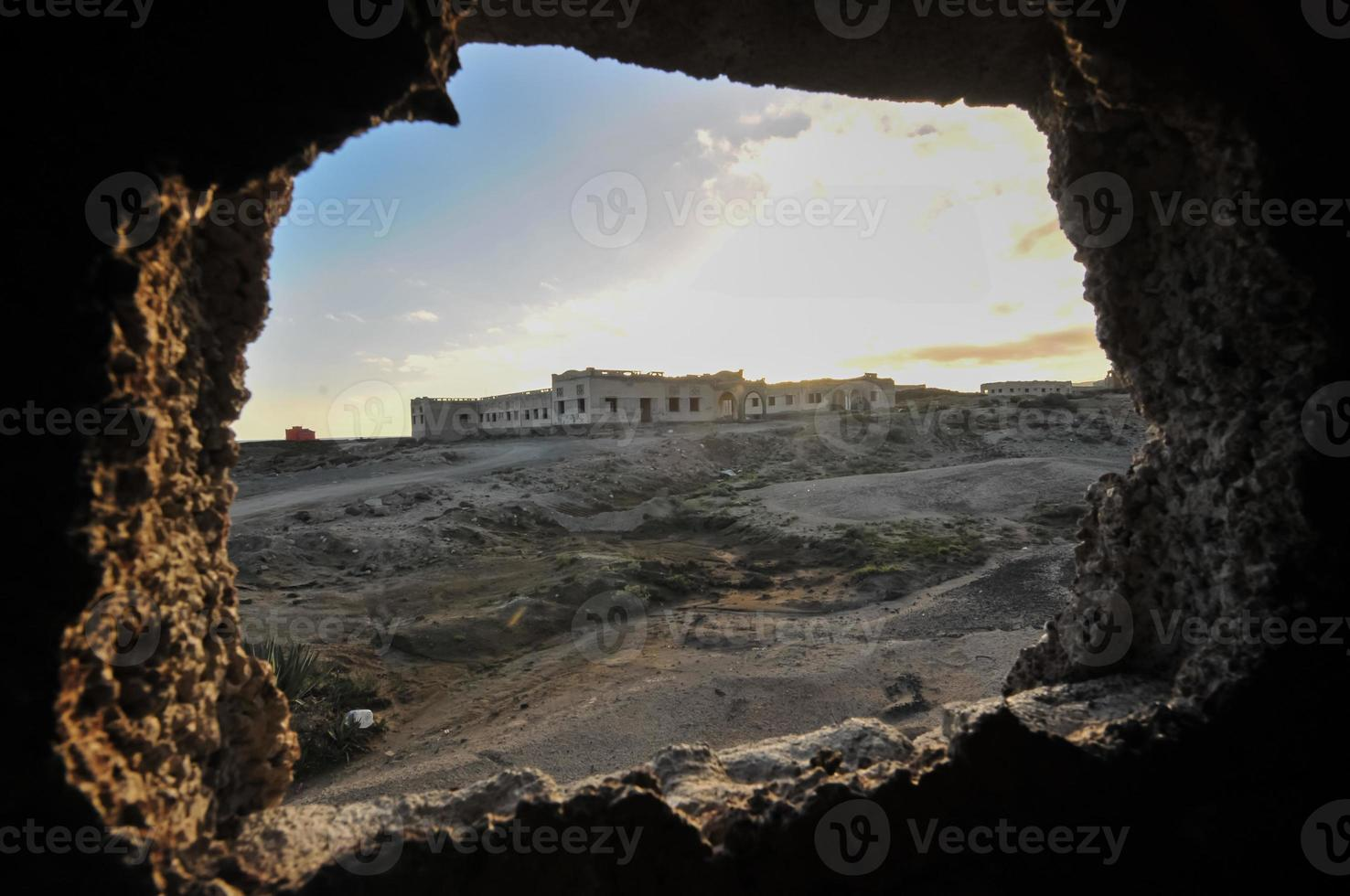 bâtiments abandonnés photo