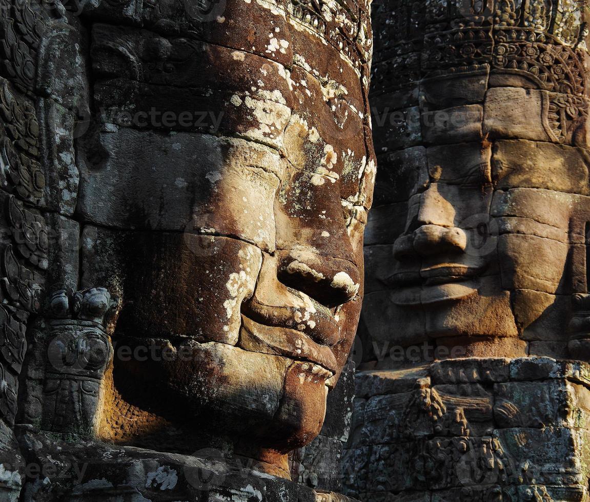 temple du bayon, angkor thom photo