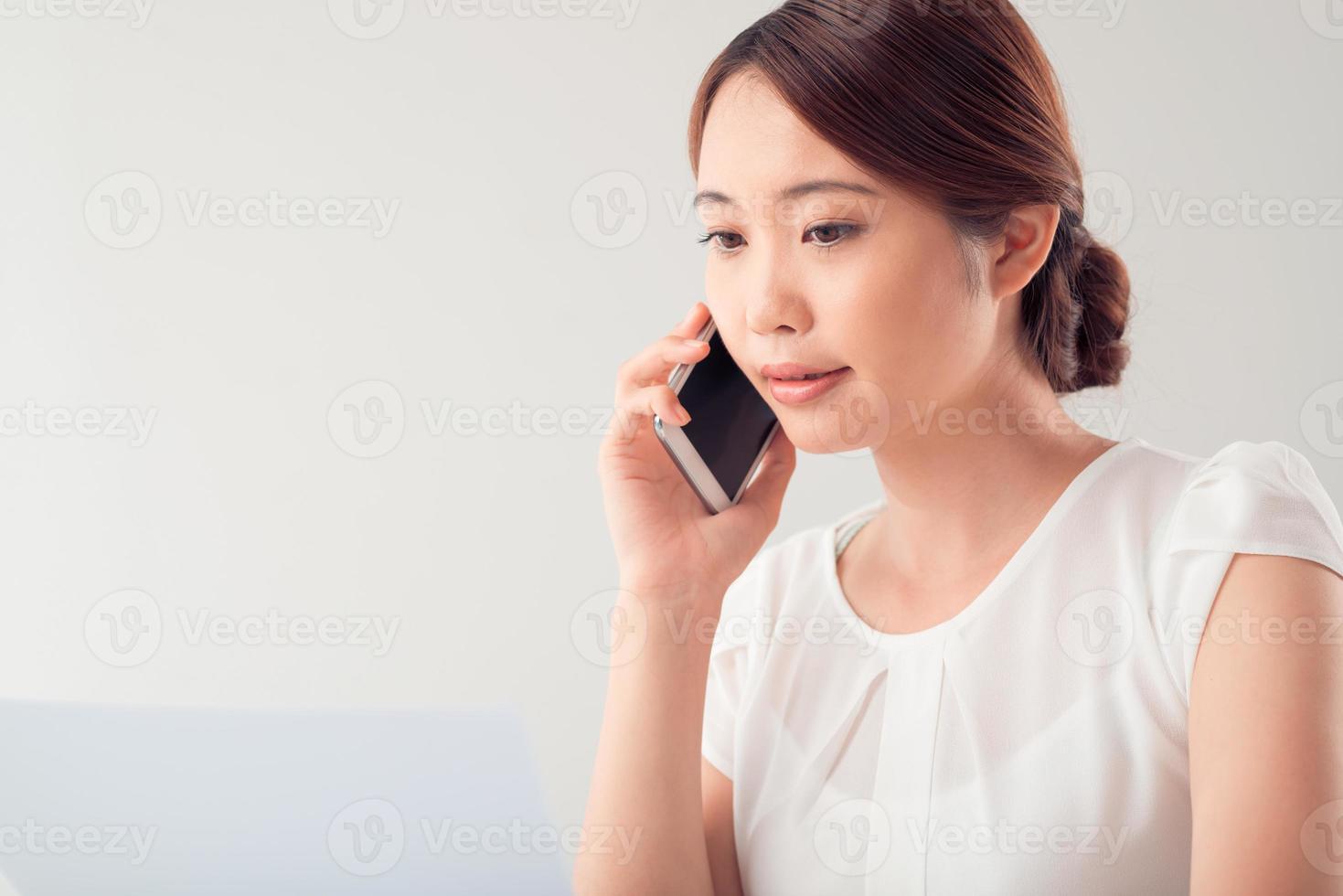 conversation téléphonique photo