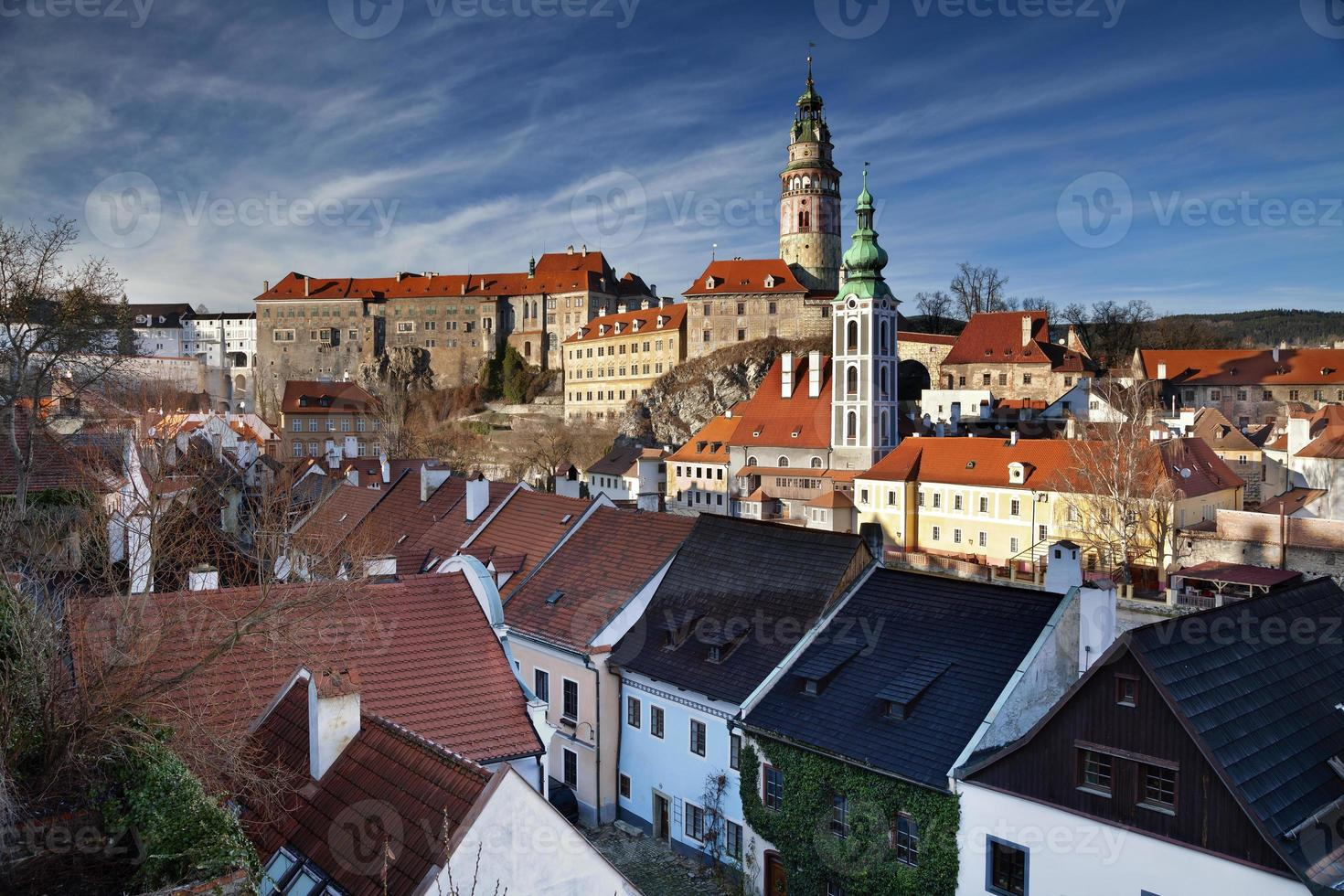 cesky kromlov, république tchèque. photo