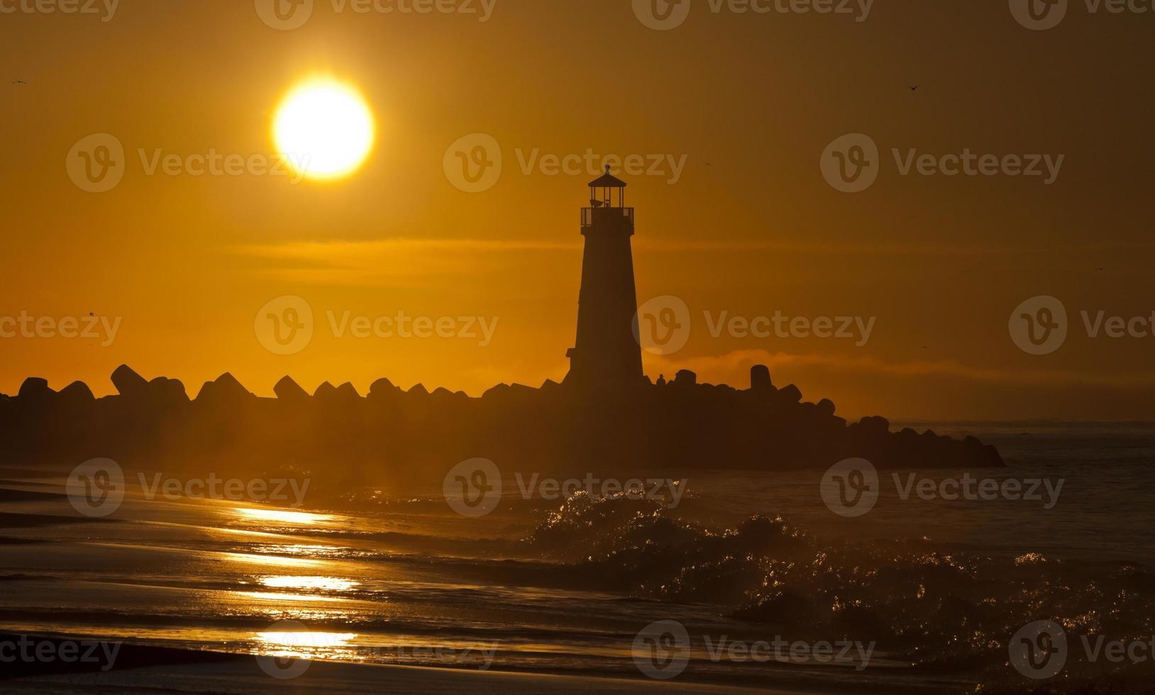 phare de santa cruz walton le matin photo