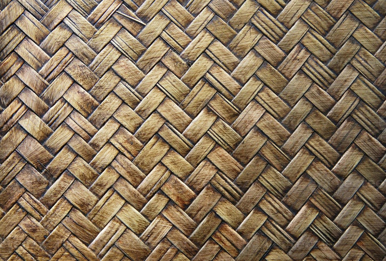 texture de tissage de panier photo