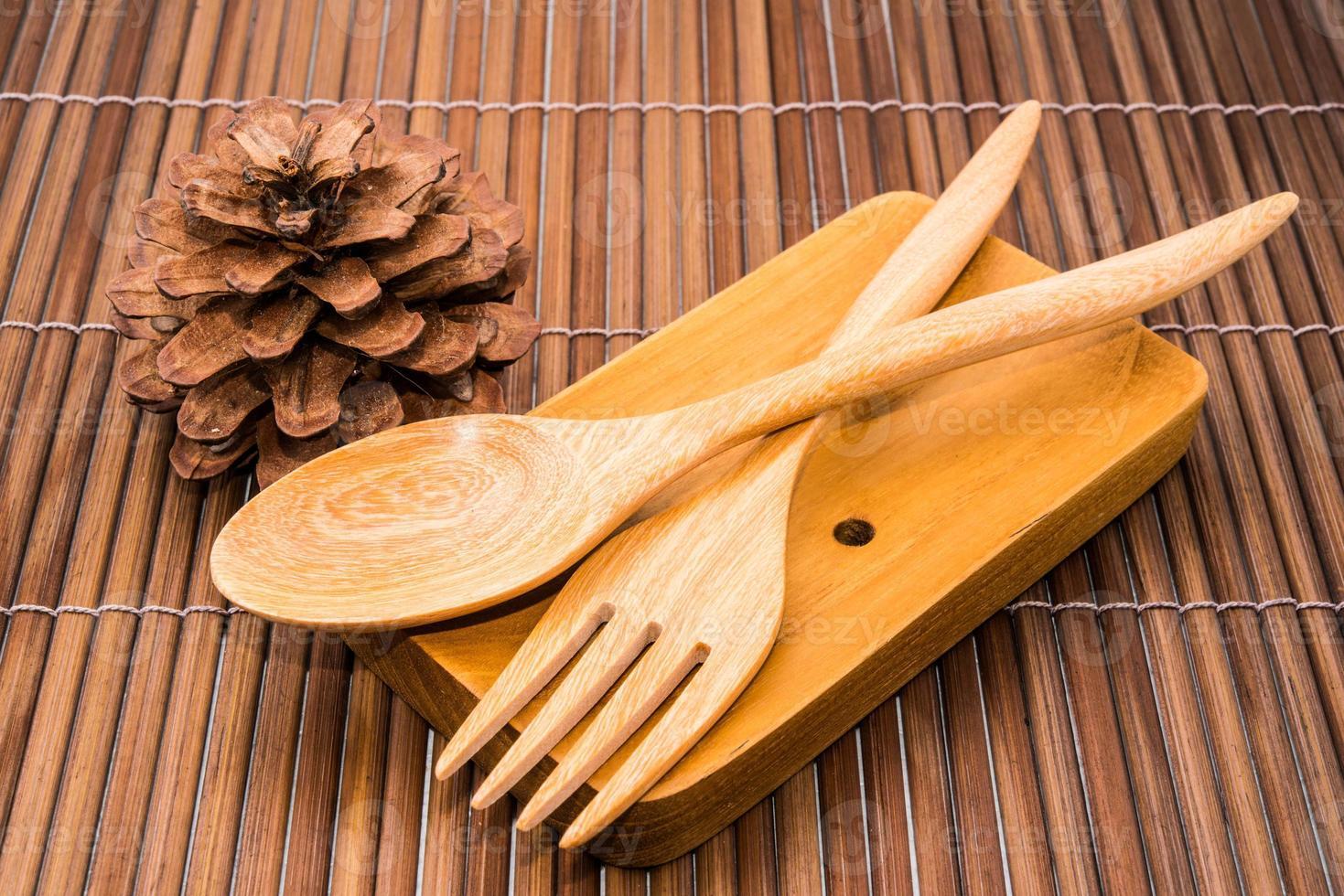 cuillère en bois photo