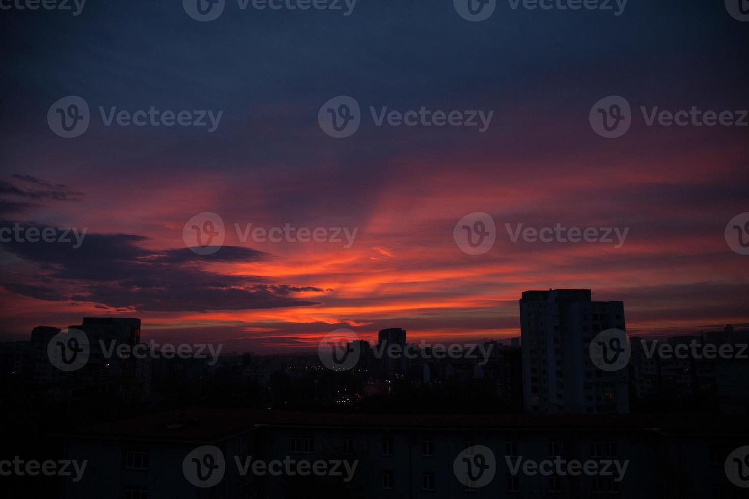 lever du soleil photo