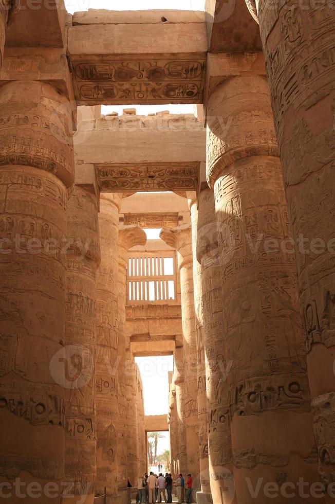 temple de karnak photo
