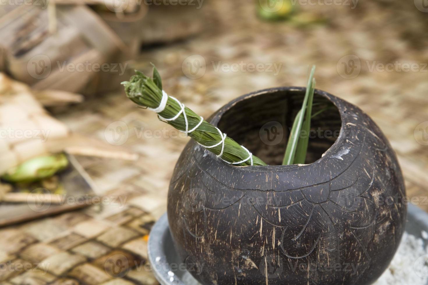 rituel du temple photo