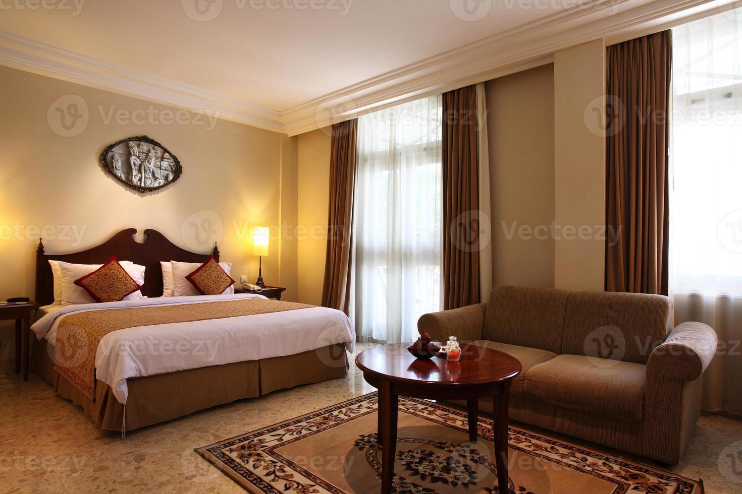 chambre d'hôtel de luxe photo