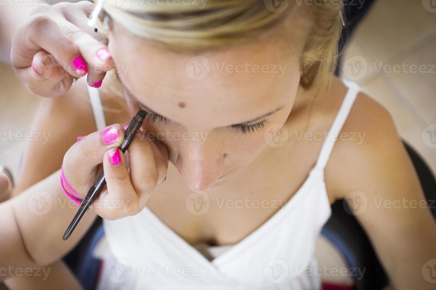 maquillage de mariée photo