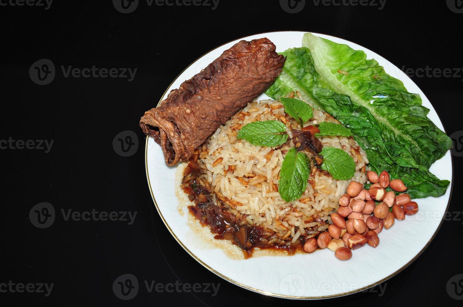 légumes nasi lemak photo