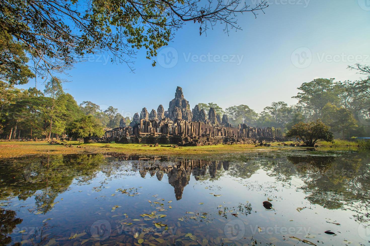 Château de Bayon, Cambodge photo